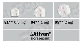 Pictures of Ativan